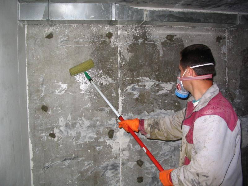 Гидроизоляция бетонных стен в квартире сколько стоит кв.метр наливной полимерный пол