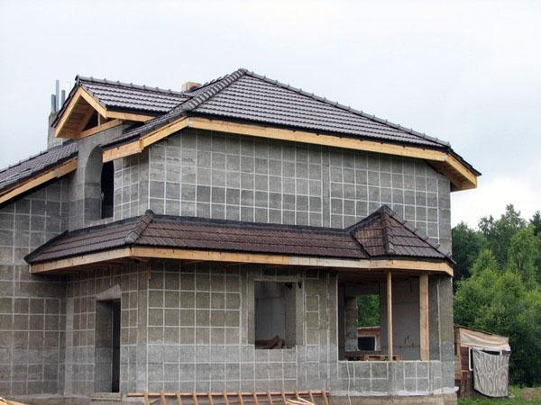 Коттеджи из пеноблоков | Строительство коттеджей | AC-Holding