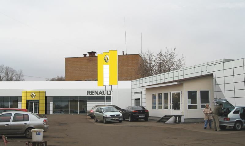 Дизайн фасадов торговых центров
