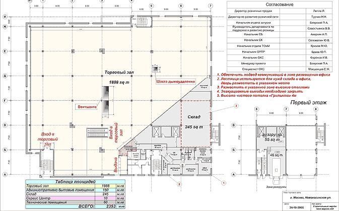 Проектирование 9-этажного 744-квартирного жилого дома с