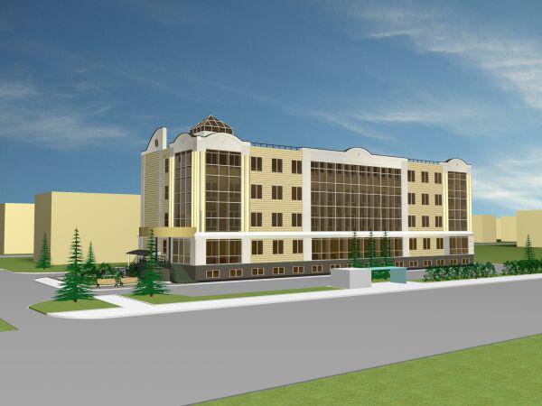 Проект на строительство офисных