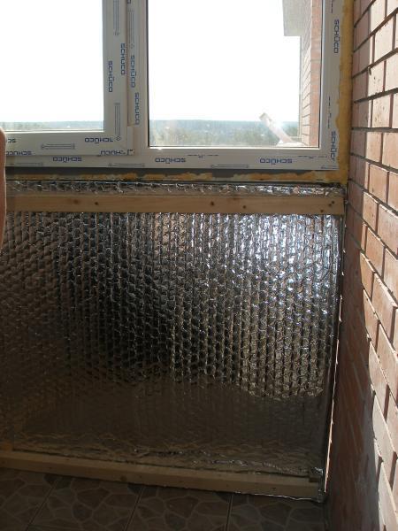 Утепление пенофолом. утепление балконов видео.
