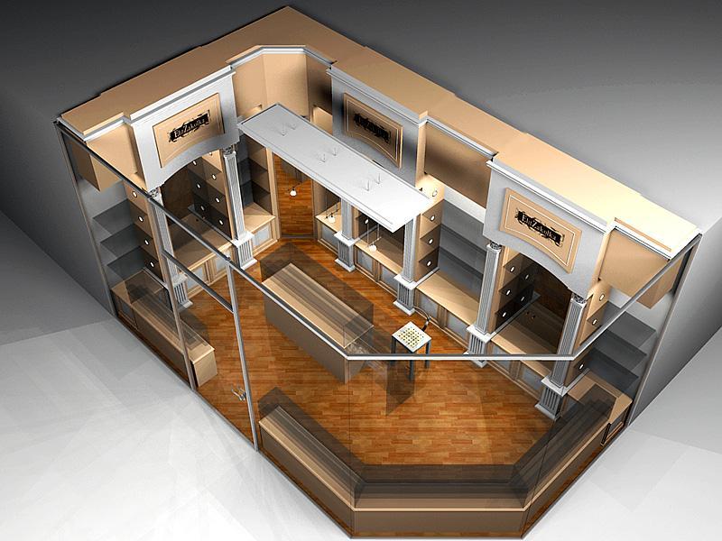 Дизайн проект магазина