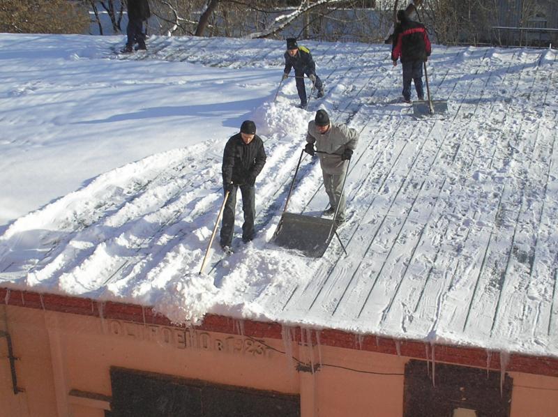 Лопата тротуарная для уборки снега